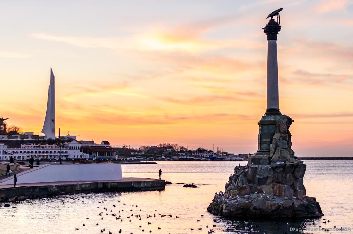 Вечерняя прогулка по набережной Севастополя: фото