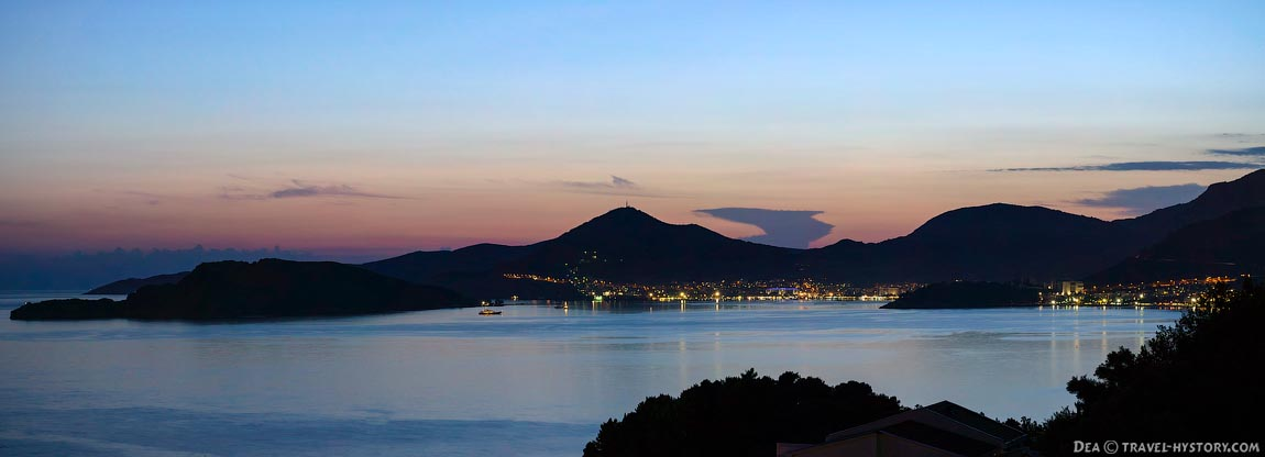 Отдых в Черногории. Вечерняя Будва