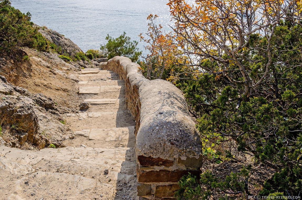 Экскурсии по Крыму. Мыс Капчик
