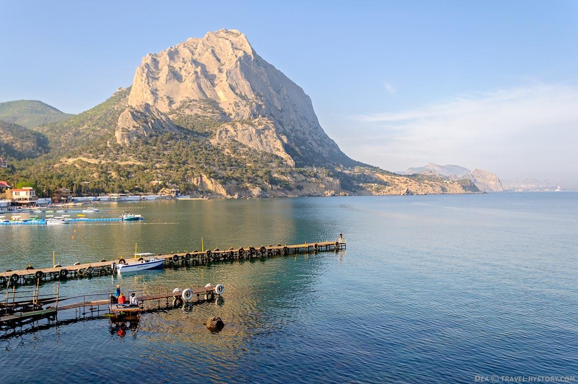 Экскурсии по Крыму. Новый свет
