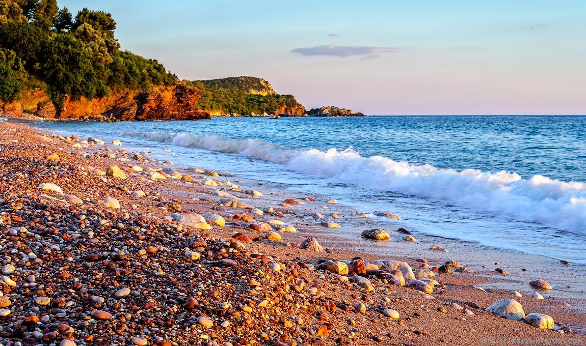 Фото пляжа Свети Стефана
