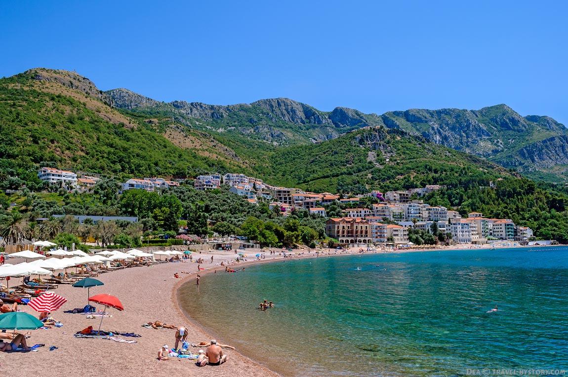 Курортный поселок Черногории Свети Стефан