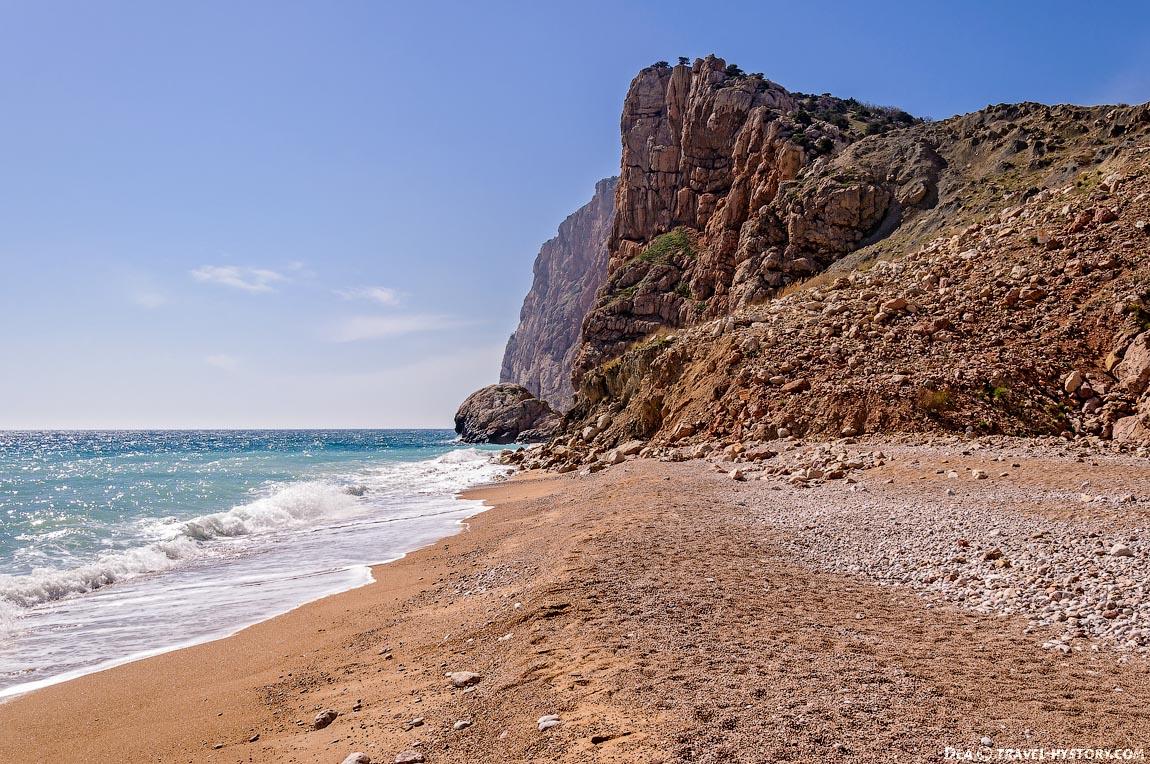 "Балаклава. Фотография пляжа ""Васили"""