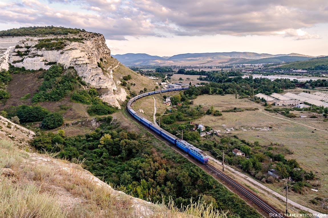 Поезд из Севастополя