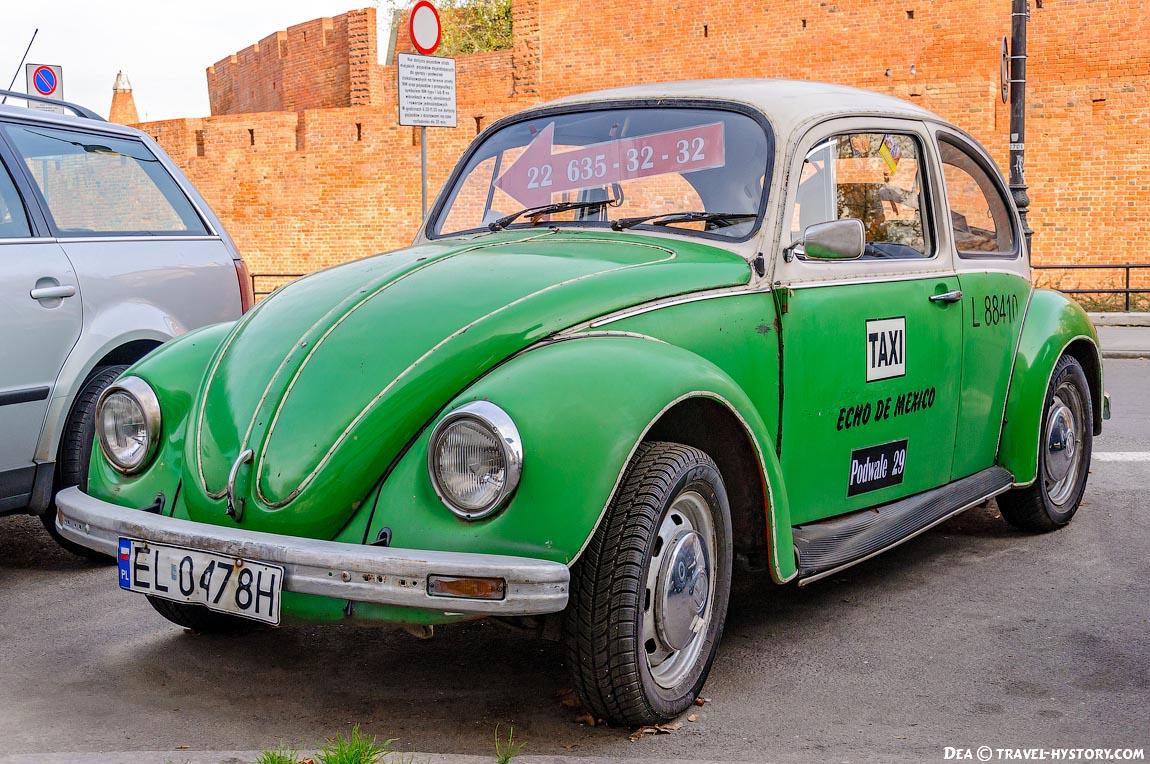 Ретро-автомобили в Варшаве. Фольксваген-Жук
