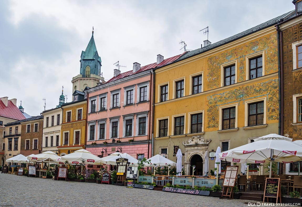 Рыночная площадь Люблина