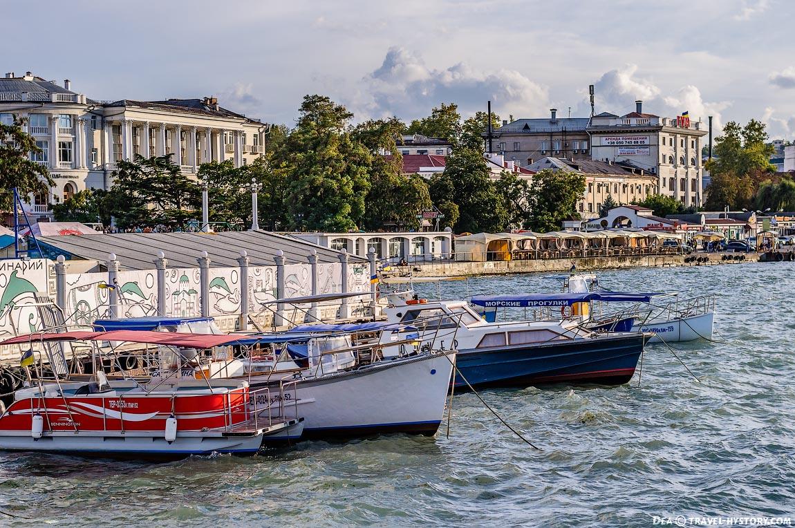 Морские прогулки в Севастополе