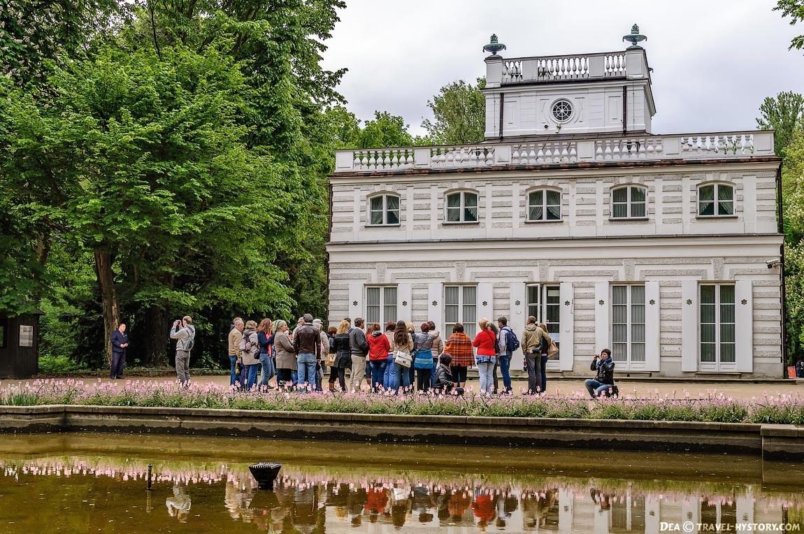 Дворцово-парковый комплекс Королевские Лазенки