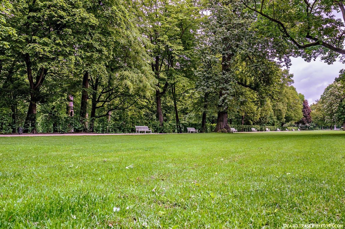 Дворцово-парковый комплекс Королевские Лазенки: фото