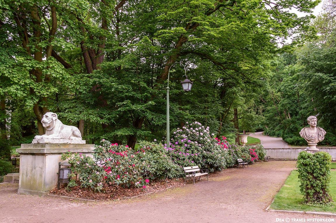 Варшава. Королевские Лазенки: фото