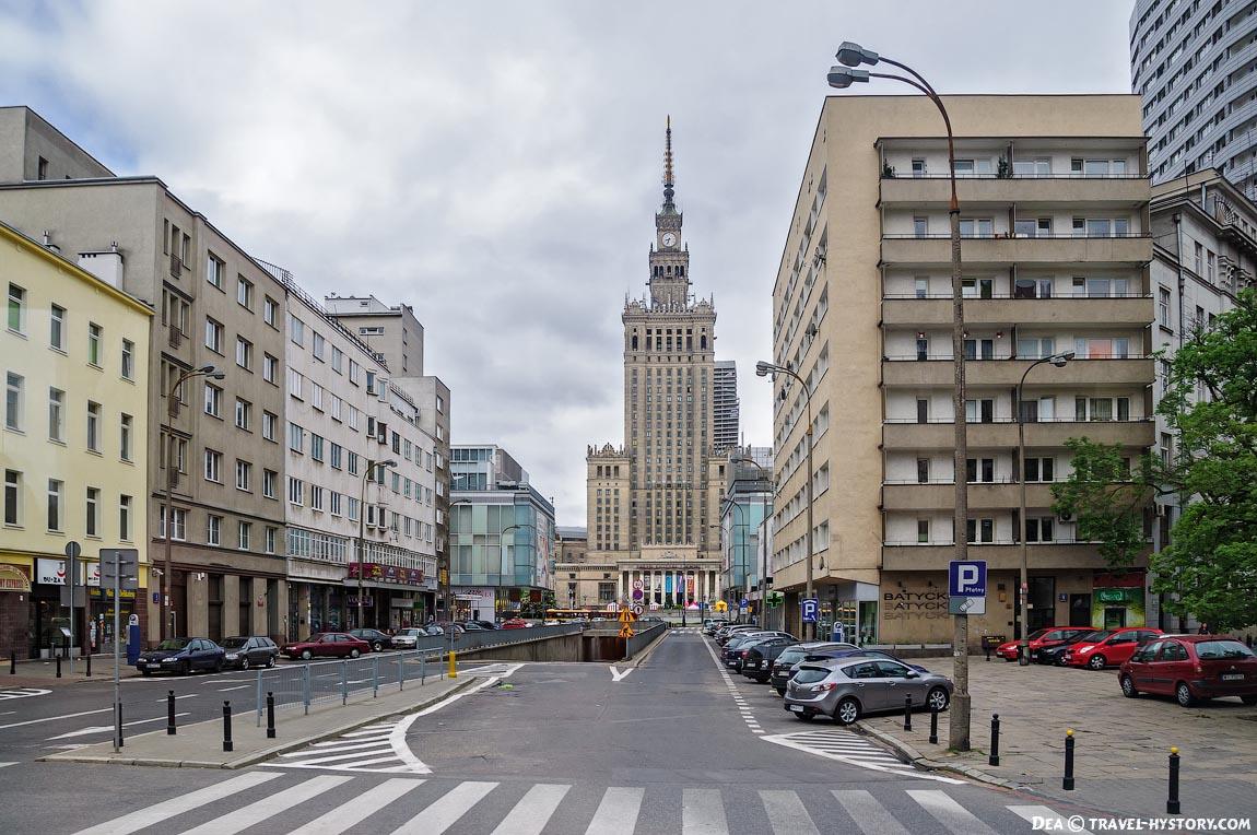Варшава. Сталинская высотка