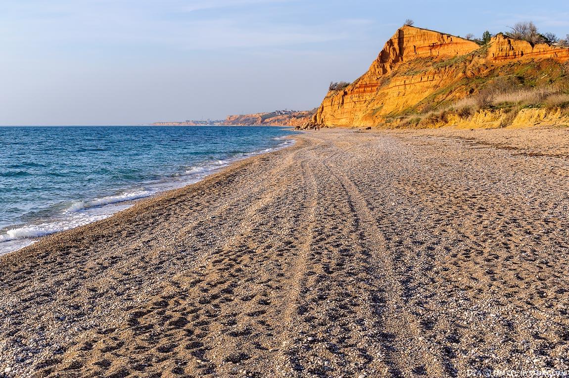Севастополь. Пляж Любимовка: фото