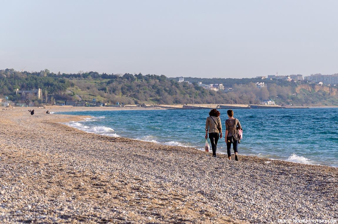 Пляж Любимовка: фото