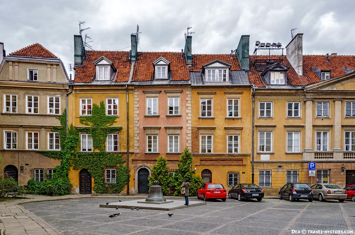 По Европе на автобусе. Варшава. Старый город