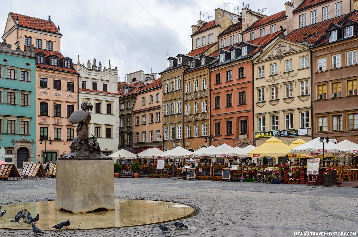 Варшава. Рыночная площадь