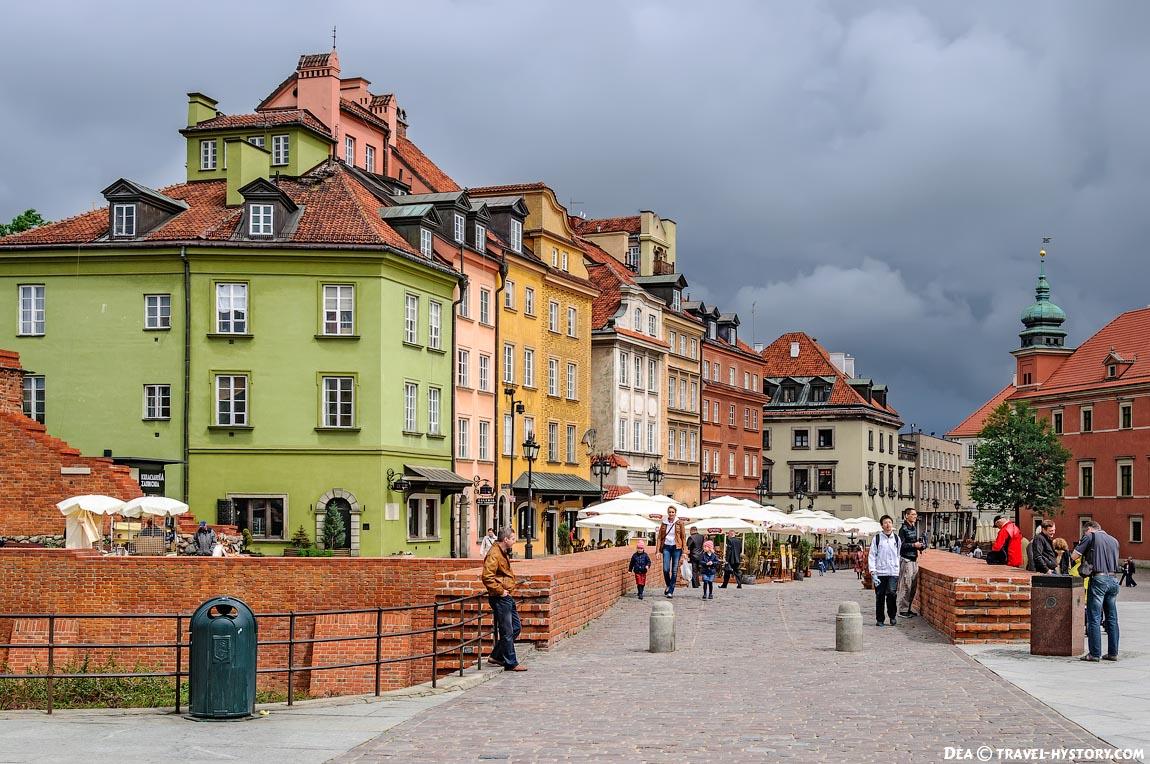 Враршава. Старый город