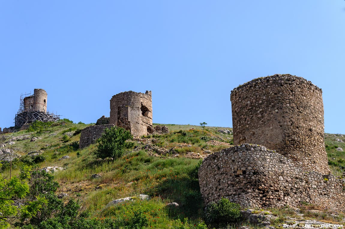 Балаклава. Крепость Чембало