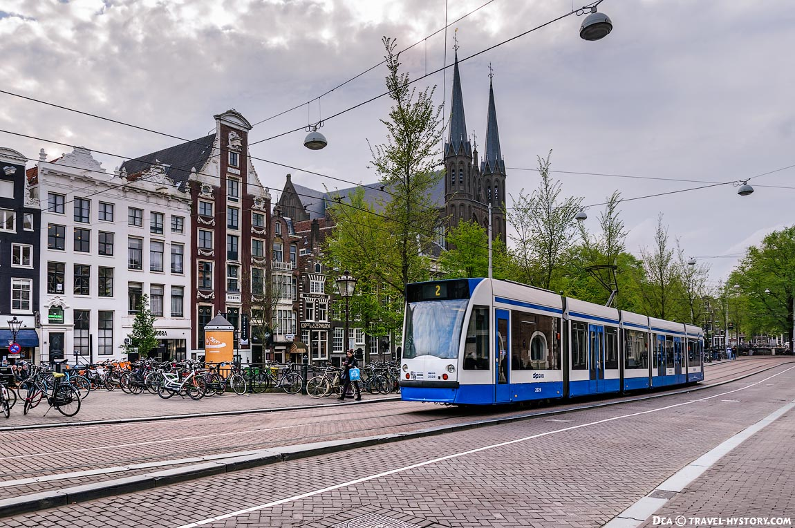 По Европе на автобусе. Амстердам