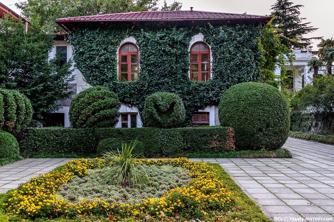 Улыбающийся домик