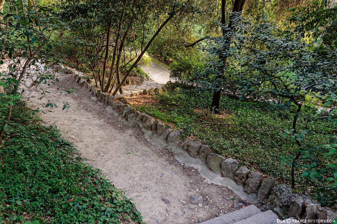 Дорожки Нижнего парка