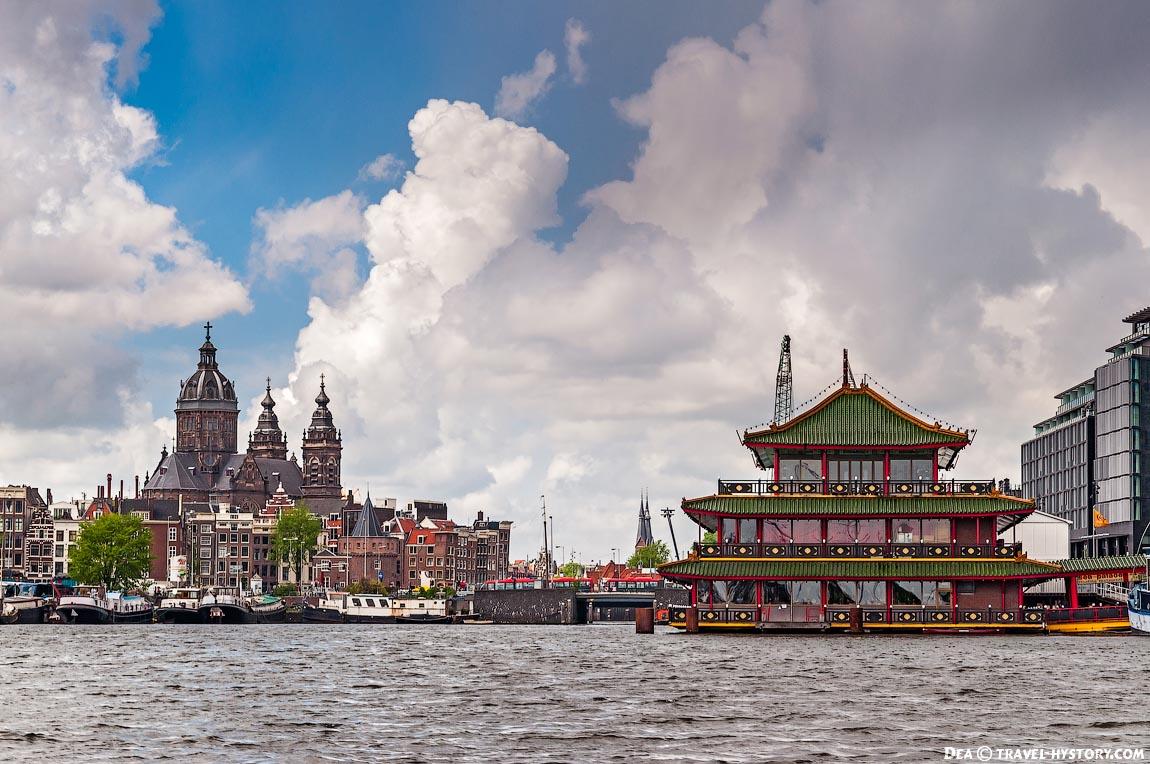 Экскурсия по каналам Амстердама