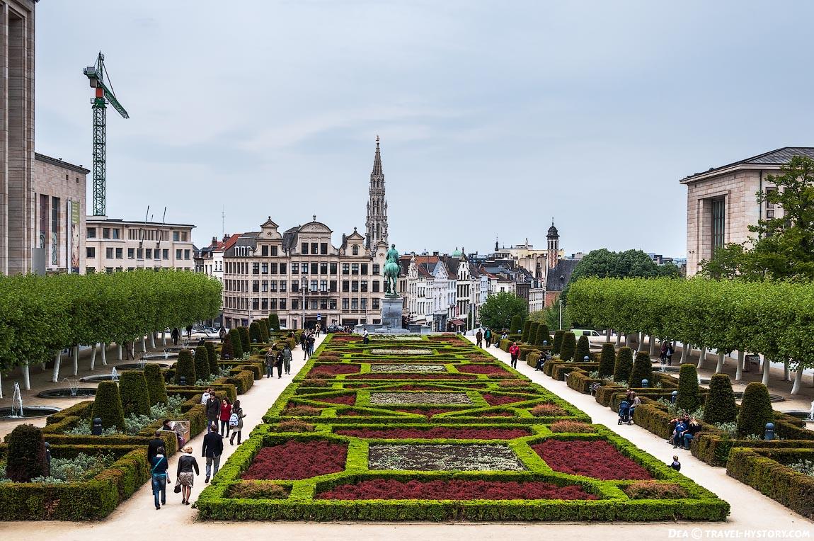 Прогулка по Брюсселю