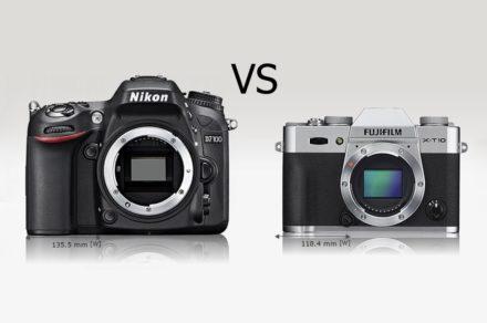 Муки выбора: зеркалка или беззеркалка – Nikon vs. FujiFilm