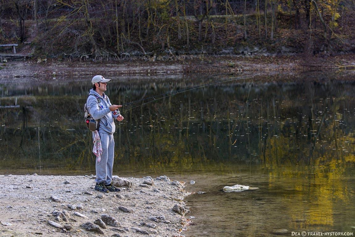 Крым: Мангупское озеро