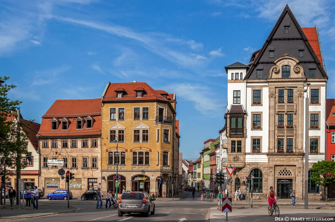 Немецкий город Эрфурт