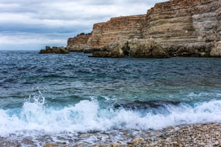 Севастополь. Осенняя экскурсия по пляжу «Голубая бухта»
