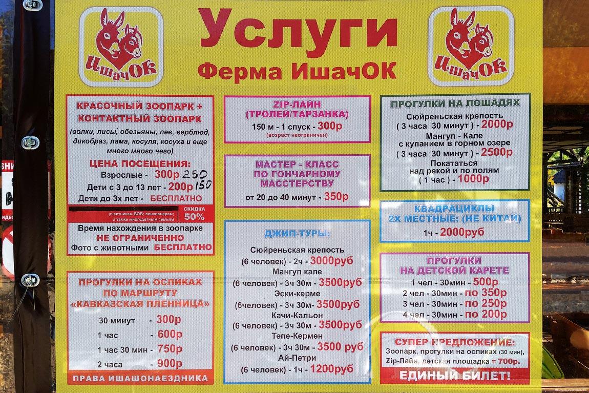 Крым. Ферма 'Ишачок'