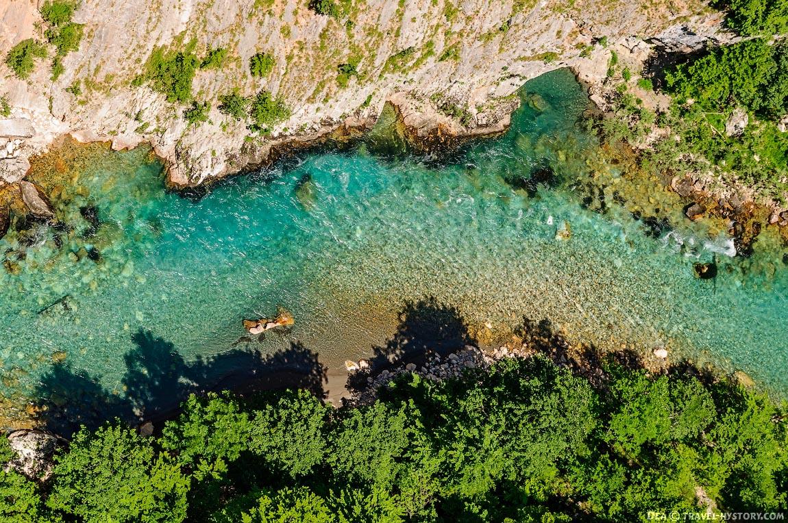 Отдых в Черногории. Река Тара