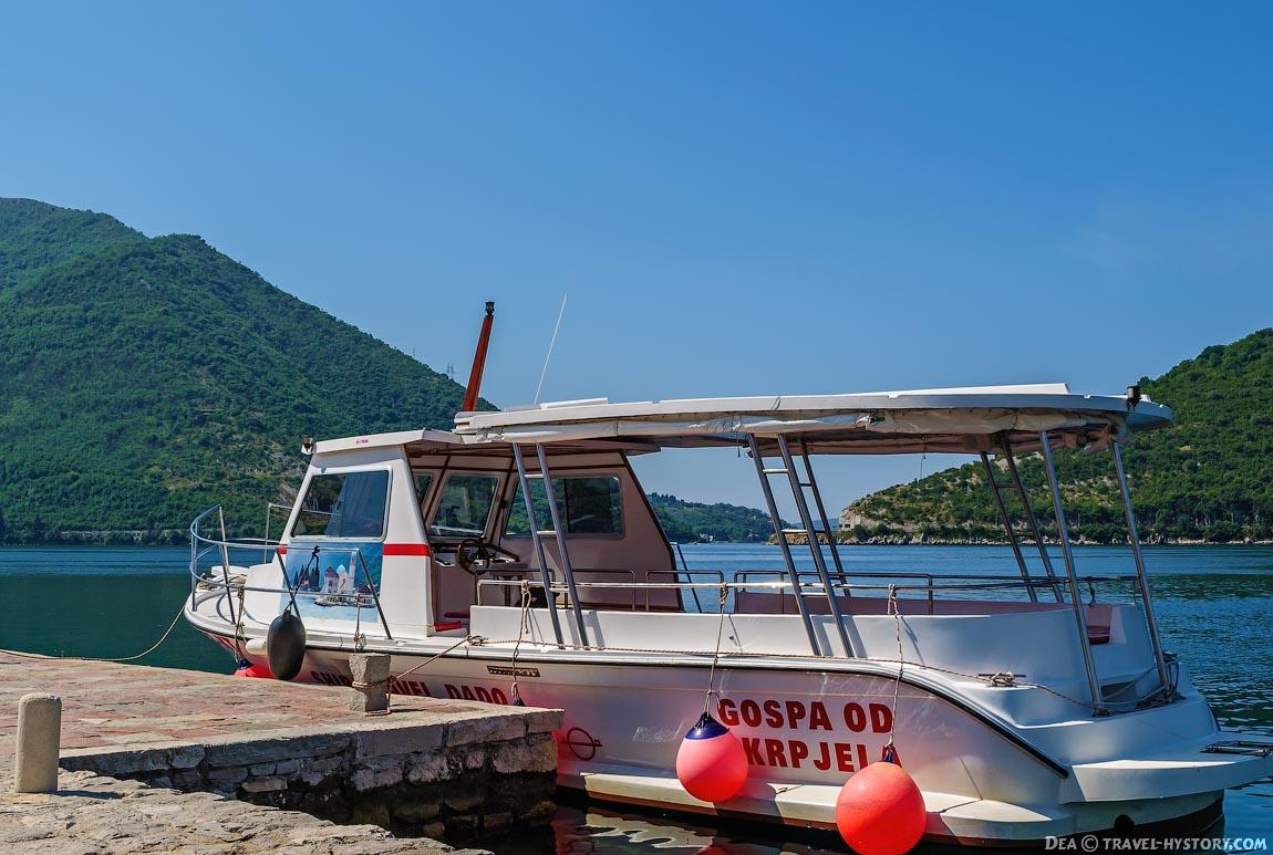 Бока-которская бухта. Экскурсионный катер