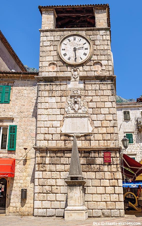 Часовая башня Котора