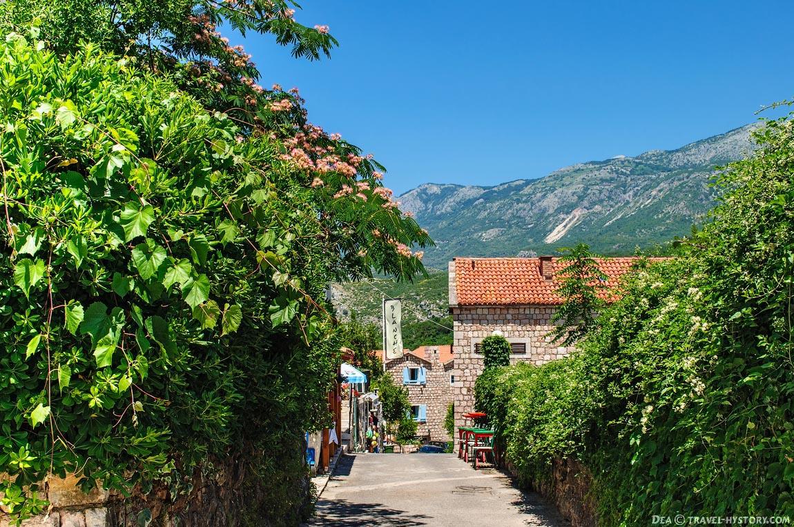 Черногория. Поселок Пржно