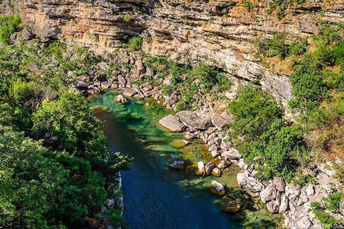 Отдых в Черногории. Река Морача