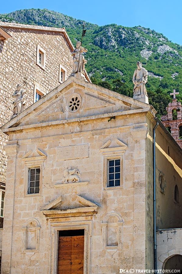Пераст. Лев святого Марка - символ Венеции