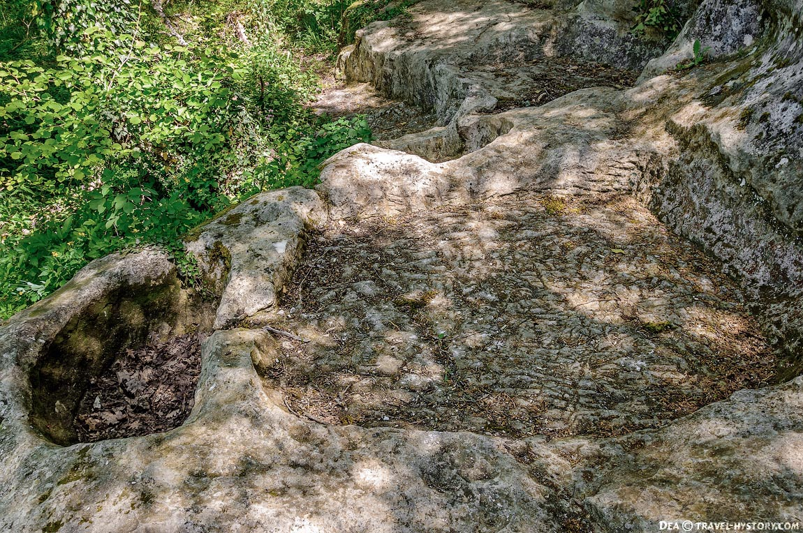 Пещерные города Крыма. Кыз-Кермен