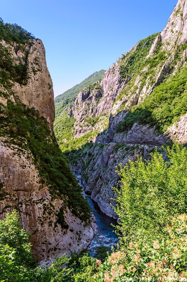 Отдых в Черногории. Каньоны