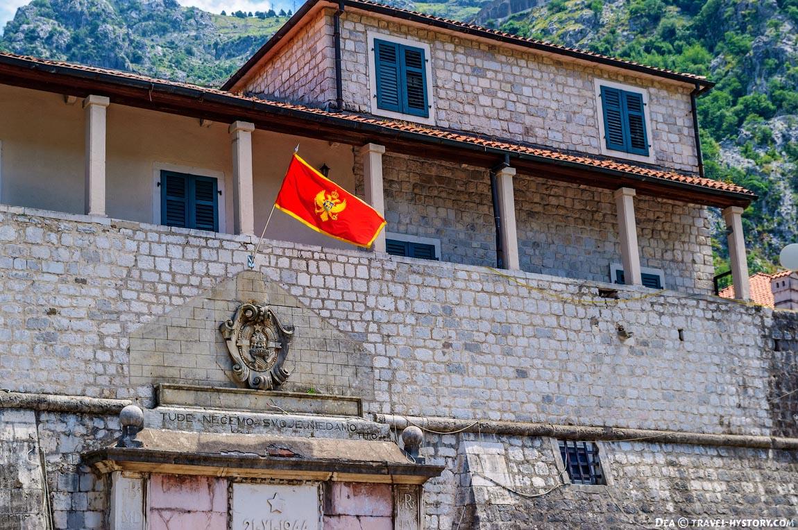 Главные ворота старого Котора