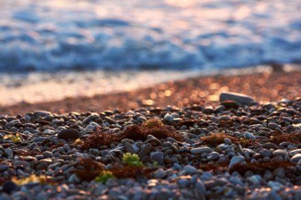 Отдых в Крыму. Пляж «Любимовка»