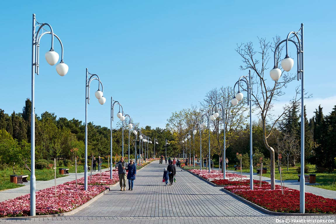 Парк Анны Ахматовой в Севастополе