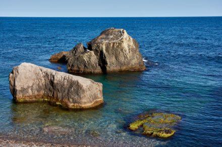 Отдых в Крыму. Пляж санатория «Форос»