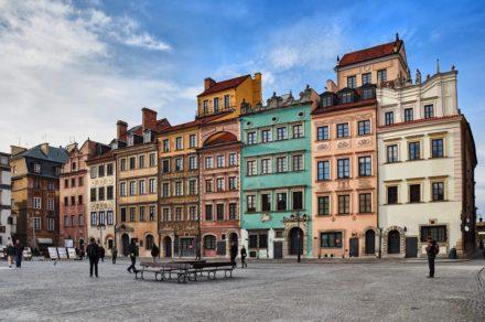 В Польшу самостоятельно. День третий. Старый город Варшавы