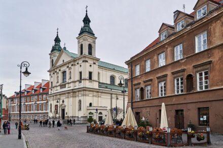 В Польшу самостоятельно. День третий. Новый город Варшавы