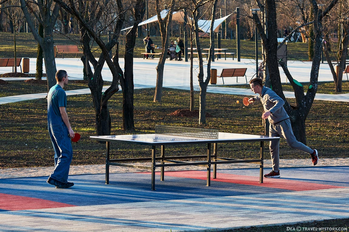 Парк Учкуевка в Севастополе