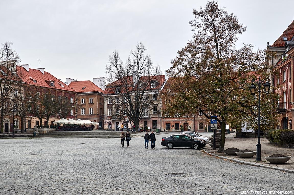 Варшава: Новый город