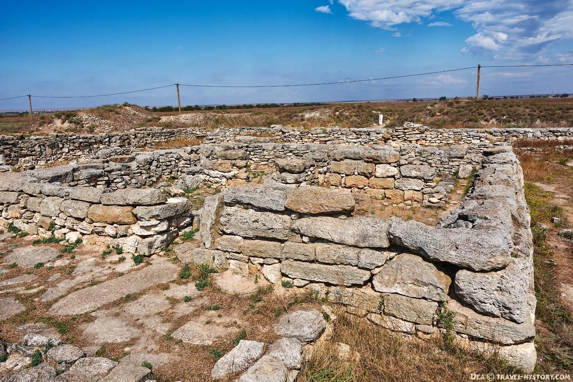 Греко-скифское городище Беляус в Крыму