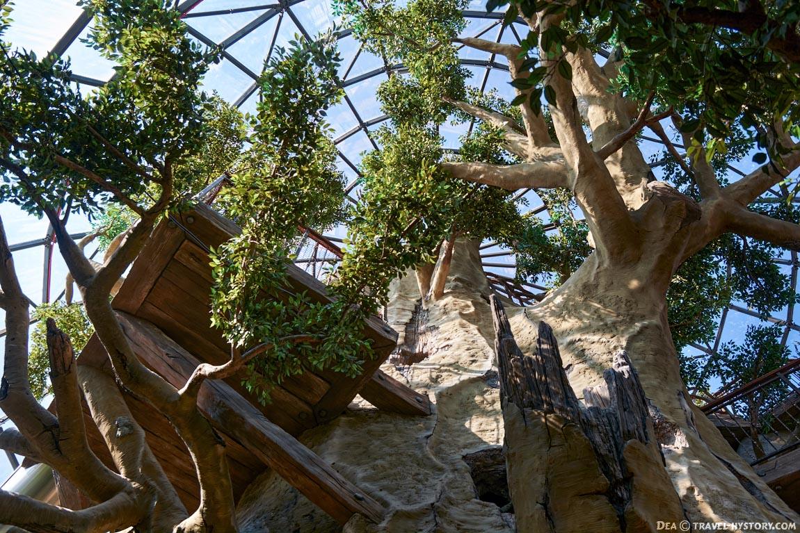 Парк развлечений «Дримвуд» в Крыму