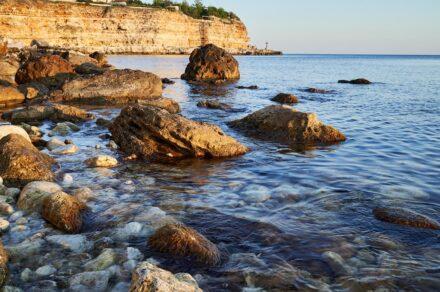 Пляжи Казачьей. Дикий пляж в Херсонесской бухте